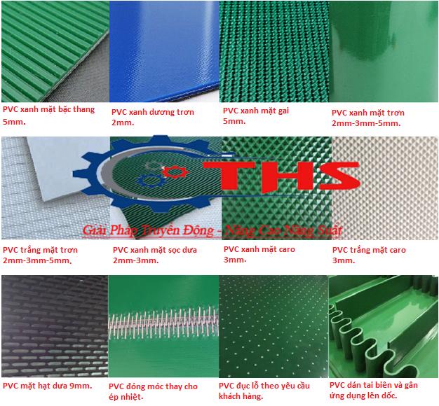 băng tải PVC các loại