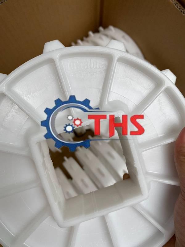 Bánh nhông băng tải Intralox series 400 có cấu tạo đơn giản, dễ lắp đặt