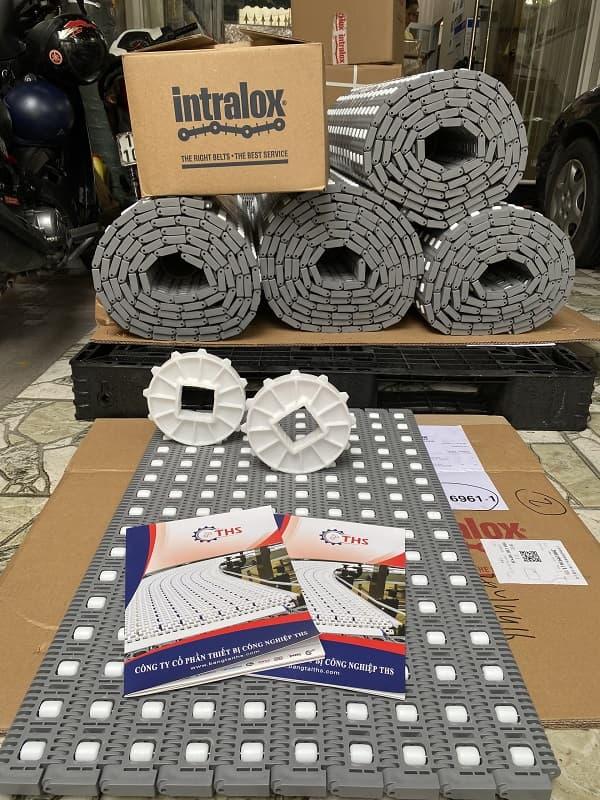 Băng tải Intralox series 400 được nhập khẩu từ USA