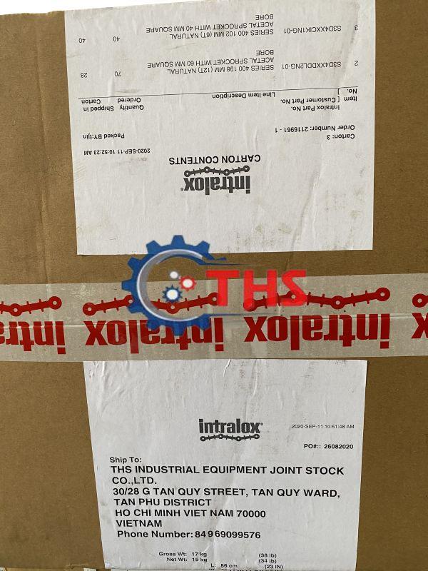 Công ty THS nhập khẩu băng tải Intralox series 400