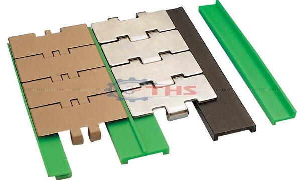 Thanh trượt chống mòn được làm từ nhựa HDPE chịu mài mòn tốt, dễ lắp đặt