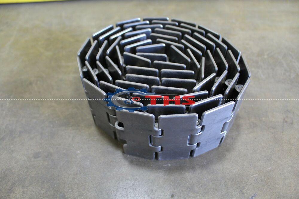 Xích Inox Chạy Thẳng 812  bản ngang K325 (82.6mm). K350 (88.9mm). K400 (114.3mm). K450 (114.3mm). K600 (152.4mm). K750 (190.5mm).   Xích được làm từ vật liệu SS201, SS304, SS420.