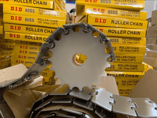 Sên Xích Inox 304 - bộ phận không thể thiếu trong hệ thống băng chuyền
